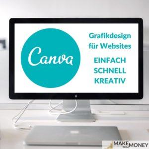 Canva Grafiken für Websites