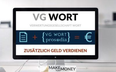 VG Wort: In 5 Steps garantiert Geld verdienen
