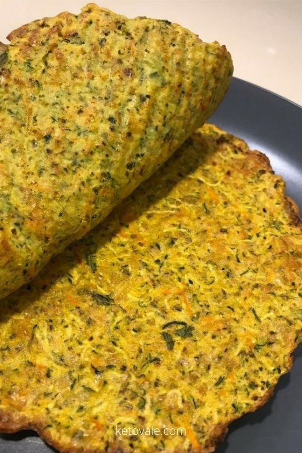 Keto Tex-Mex-Style Zucchini Tortillas