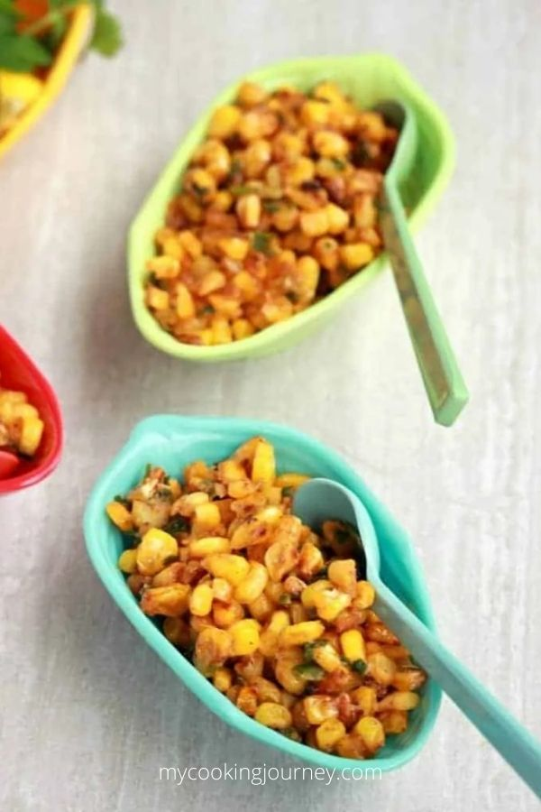 Esquites and Creamy Mexican Street Corn Salad