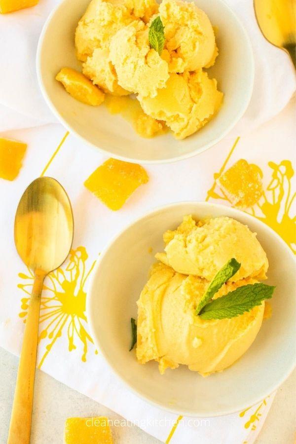 Vegan Mango Ice Cream Recipe