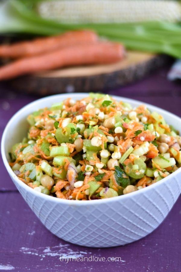 Chickpea Celery Salad