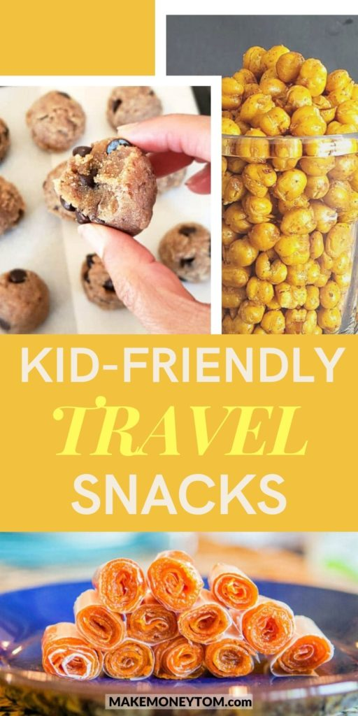 10 Healthy Snacks for Kids by traveling - Healthy Snack Recipes