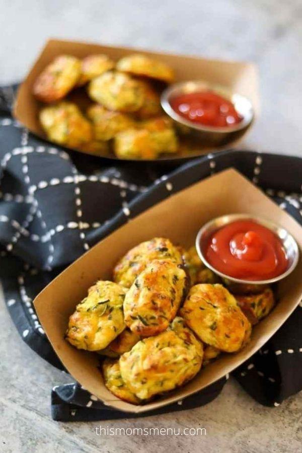 Gluten-Free Zucchini Recipe: Zucchini Tots