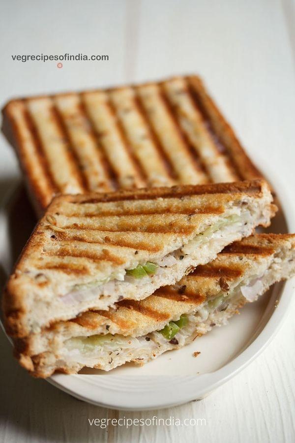 GRILLED CREAM CHEESE SANDWICH