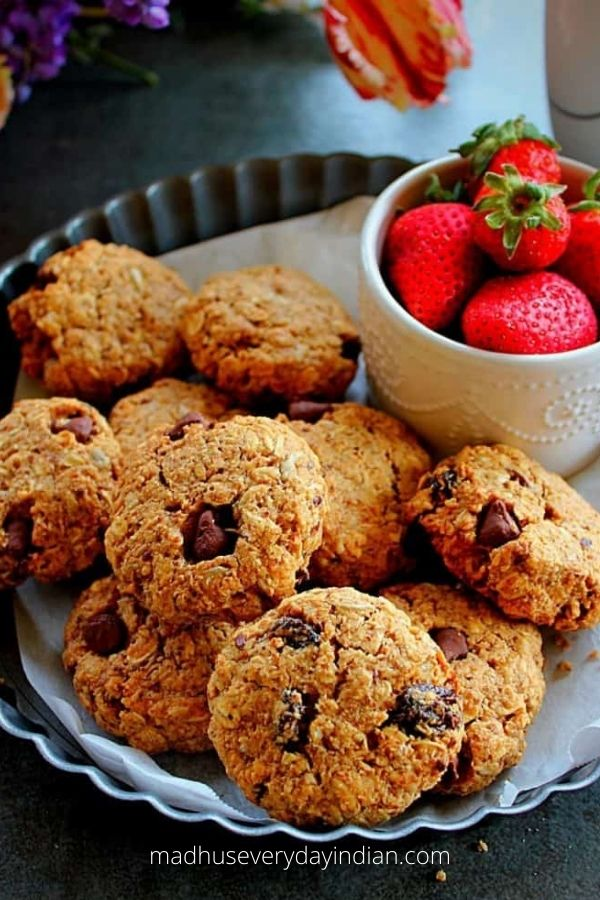 Vegan Breakfast Cookies (Healthy & Flourless)