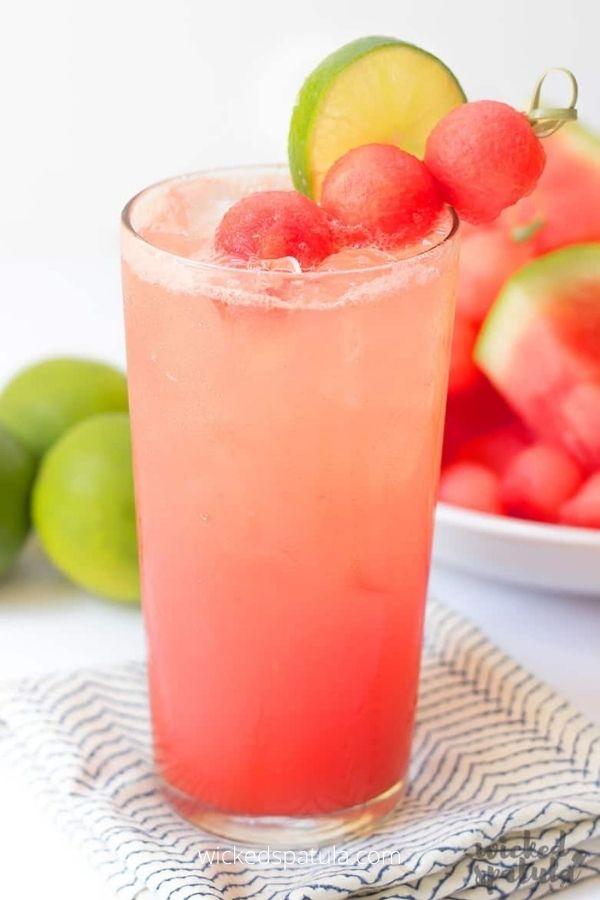 Lime Watermelon Coconut Water Recipe