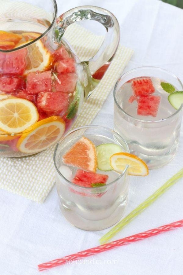 Refreshing, Nourishing Homemade Vitamin Water