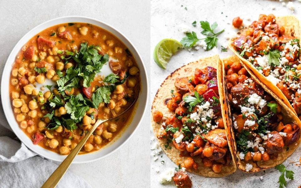 10 Vegan Chickpea Recipes – The Best Chickpea Recipes