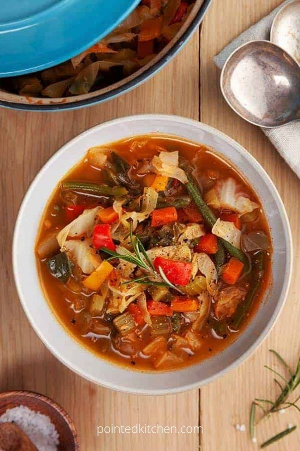 Zero Point Cabbage Soup – Weight Watchers