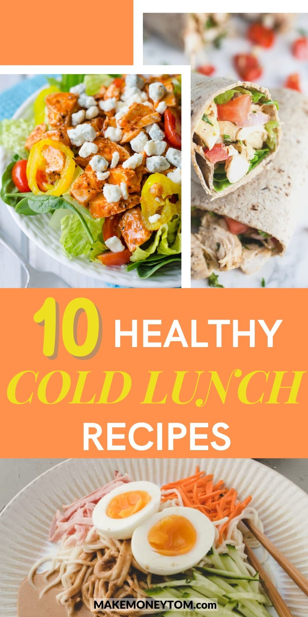 10 Cold Lunch Recipes - Healthy Recipes