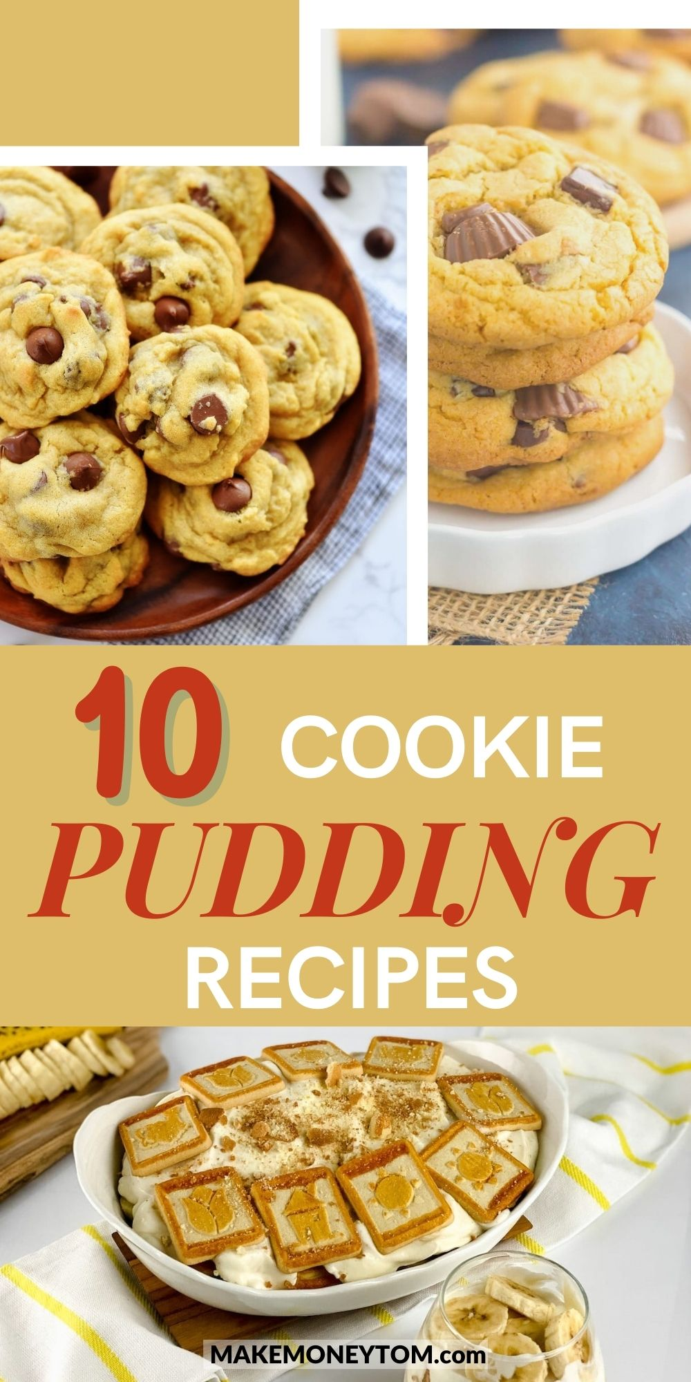 10 Delicious Cookie Pudding Recipes - Healthy Cookie Recipes