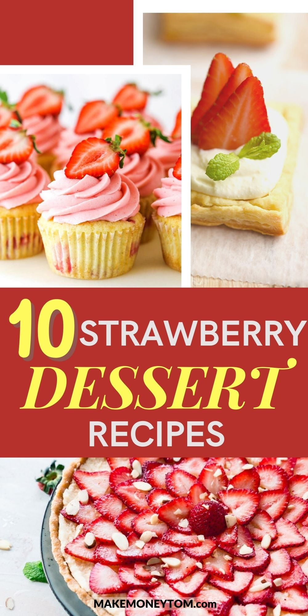 10 Fresh Strawberry Recipes - Healthy Strawberry Desserts