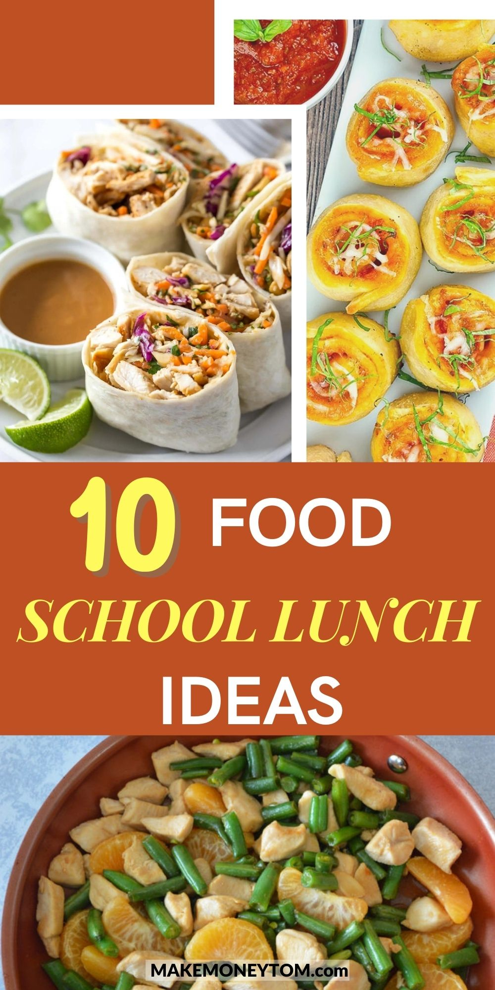 10 Hot Food School Lunch Ideas + Healthy Lunch Recipes