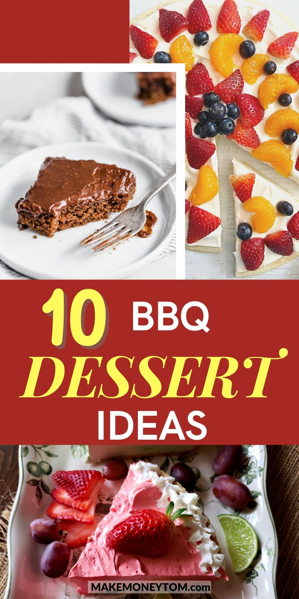 10 Party BBQ Dessert Ideas + Delicious Desserts To Bring To A BBQ