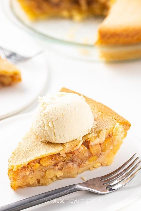 Low Carb Keto Apple Pie Recipe