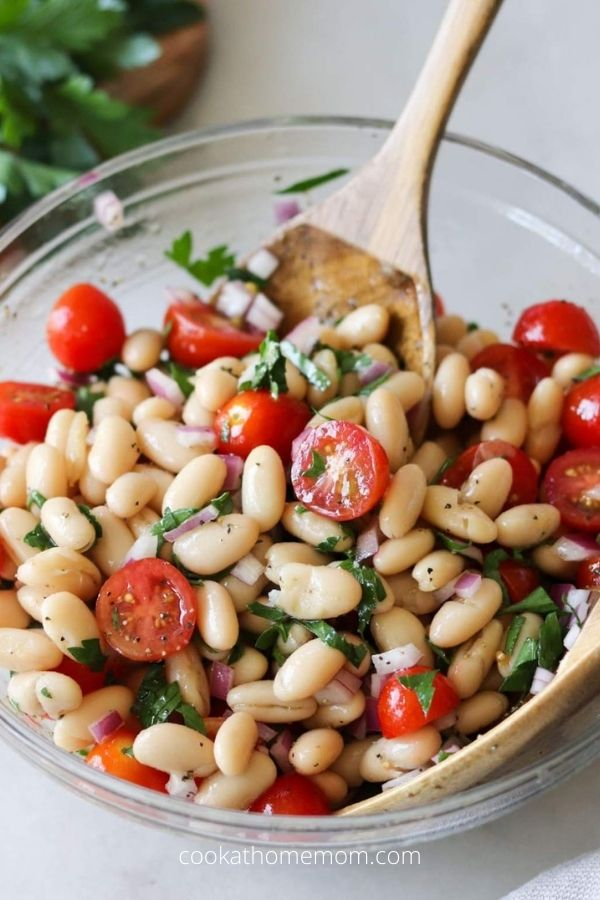 Easy Cannellini Bean Salad