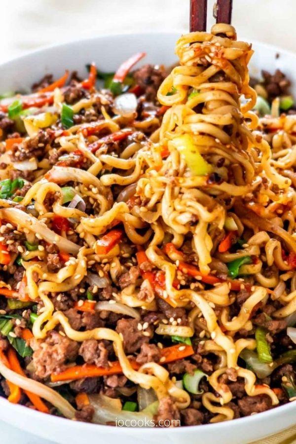 Hoisin Beef Noodles