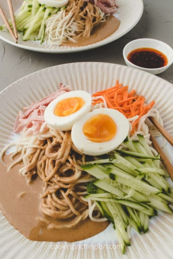 Taiwanese Cold Noodles with Sesame Dressing (Liang Mian)