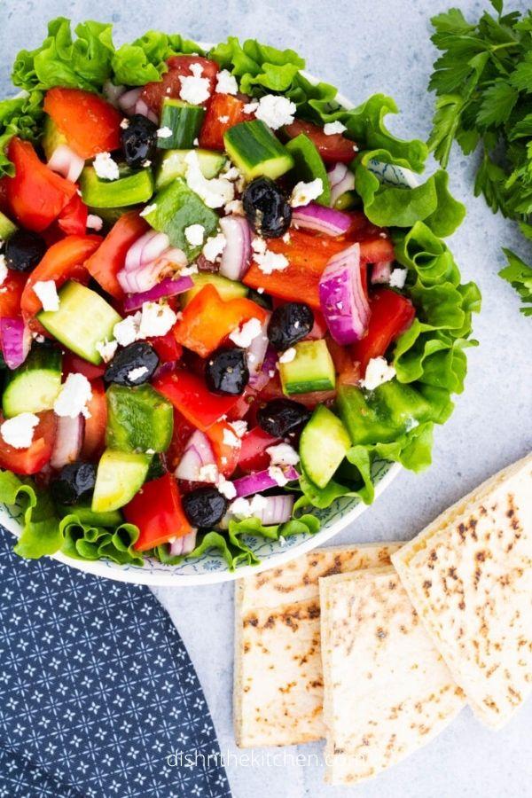 Horiatiki Salad (Classic Greek Village Salad)
