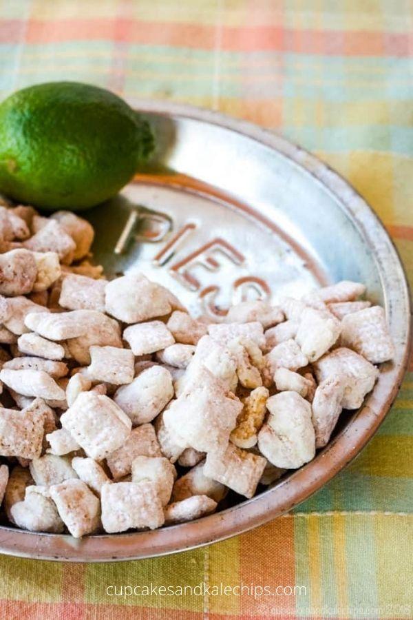 Key Lime Pie Puppy Chow (Muddy Buddies)