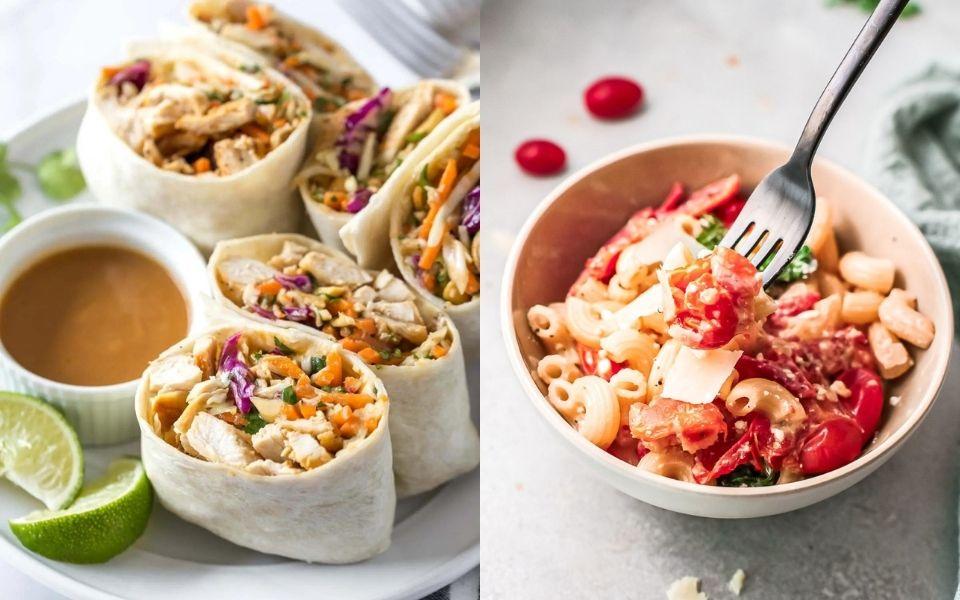 10 Hot Food School Lunch Ideas – Healthy Lunch Recipes