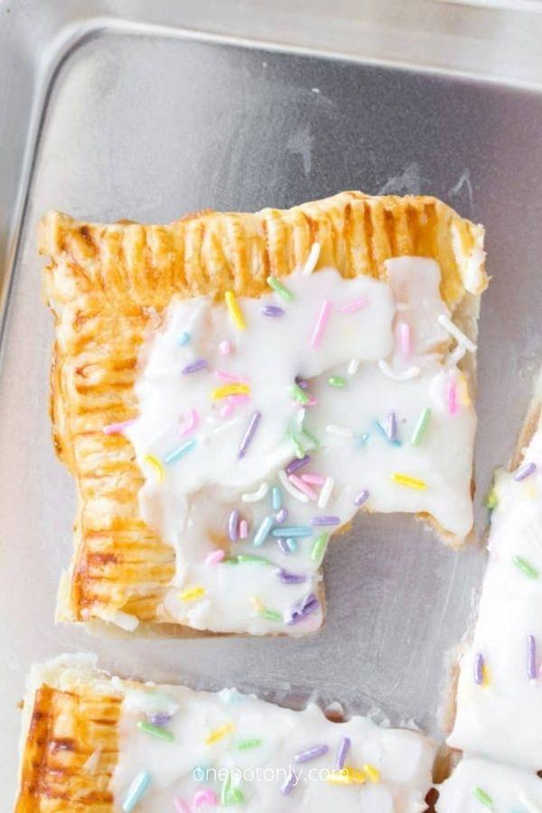 Sheet Pan Puff Pastry Pop Tart