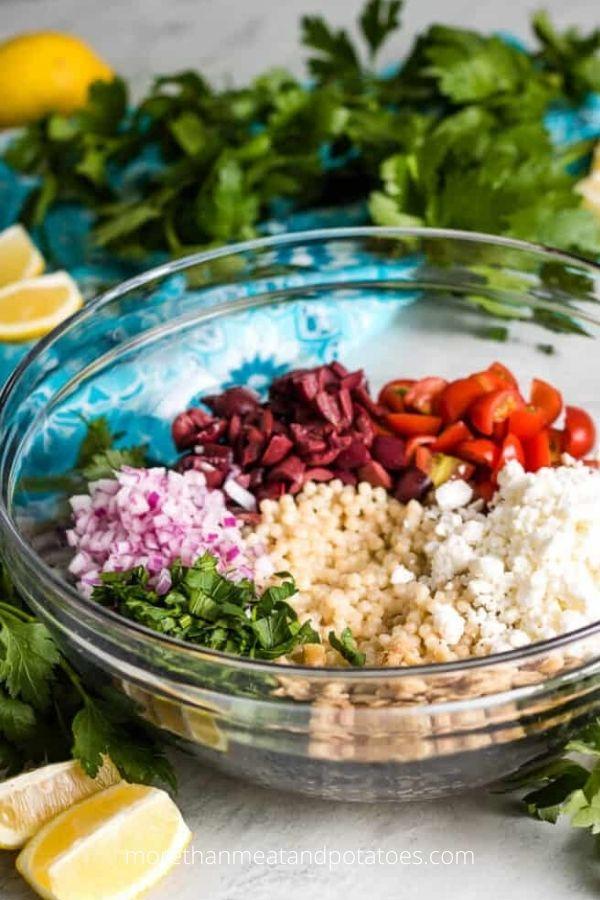 Lemon Couscous Salad Recipe