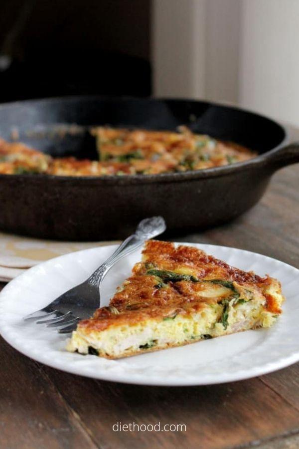 Leftover-Turkey Frittata