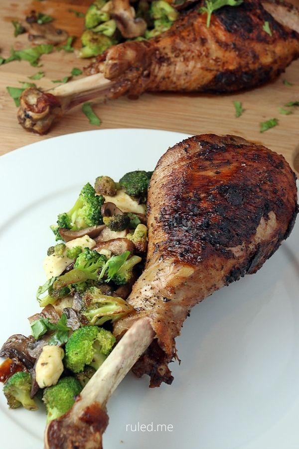Thanksgiving Oven Roasted Turkey Legs