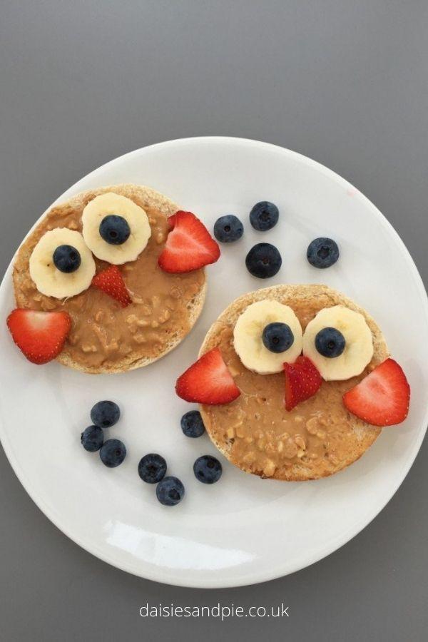 Wise Owl Fruity Toast – Easy Breakfast Ideas for Kids