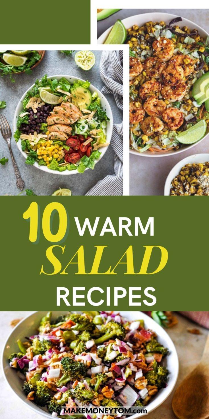 10 Warm Salad Recipes - Healthy Salad Recipes