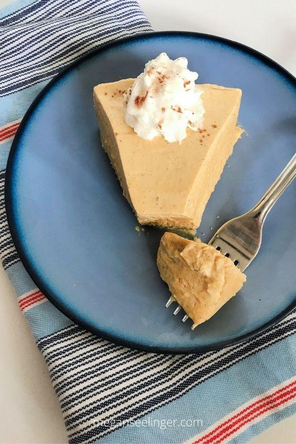 No-Bake Keto Pumpkin Cheesecake Recipe