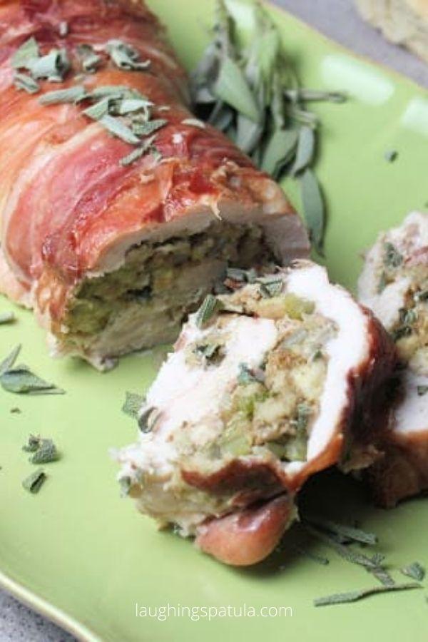 Turkey Breast Wrapped in Prosciutto
