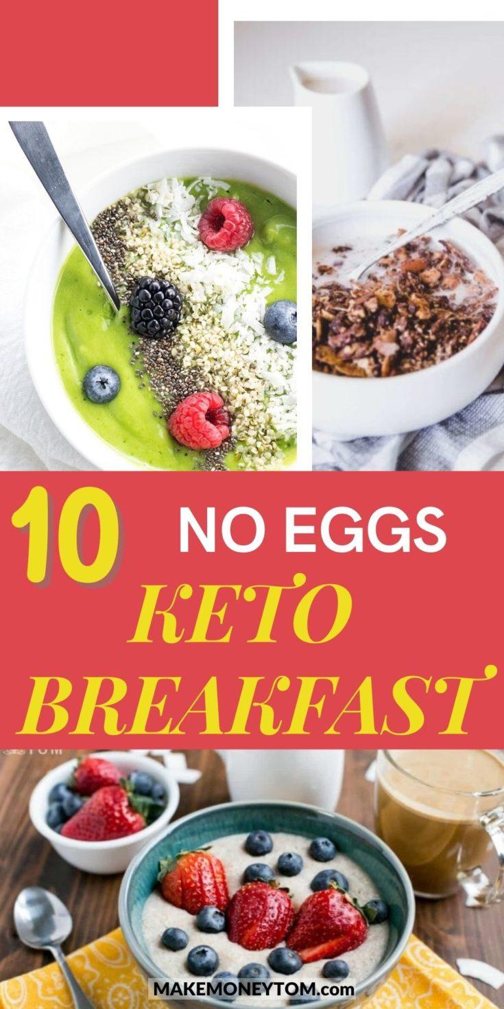 10 Best Egg-Free Keto Recipes for Keto Breakfast