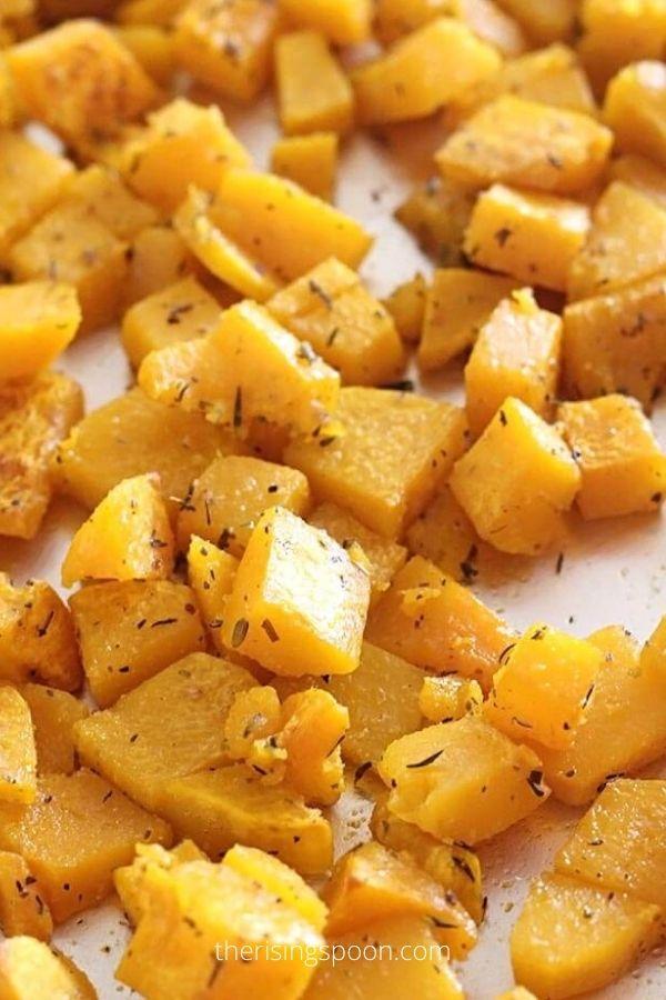 Savory Roasted Butternut Squash