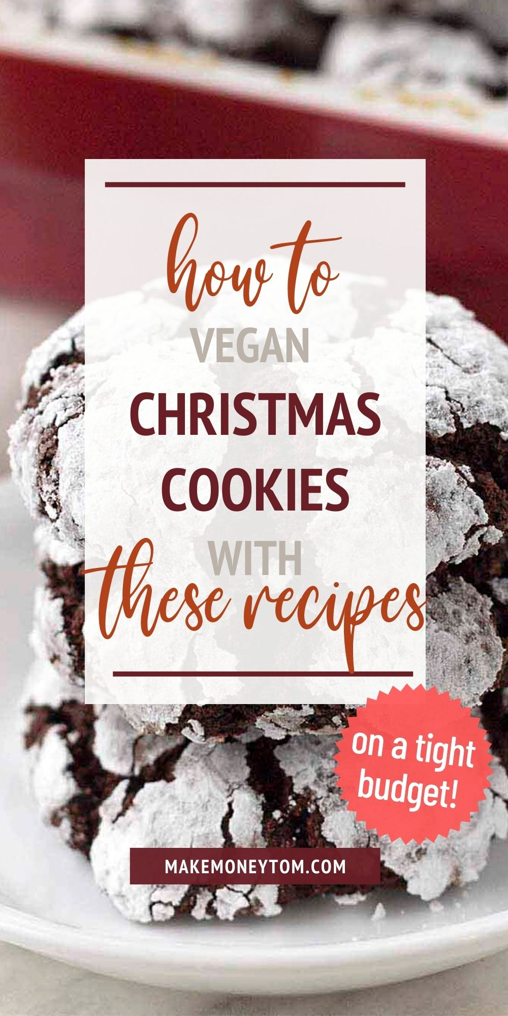 Healthy Christmas Cookies Recipes + vegan and easy
