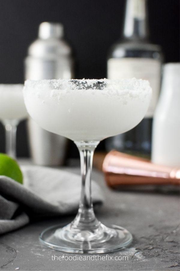 Skinny Coconut-Lime Margarita