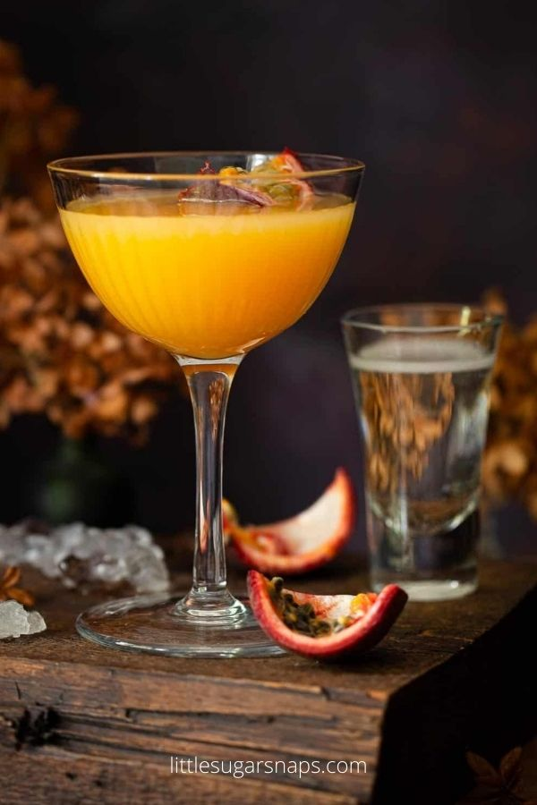 Passionfruit Martini with Coconut