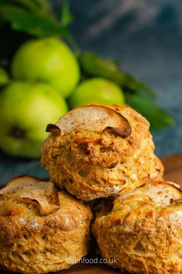 Apple & Cinnamon Scones