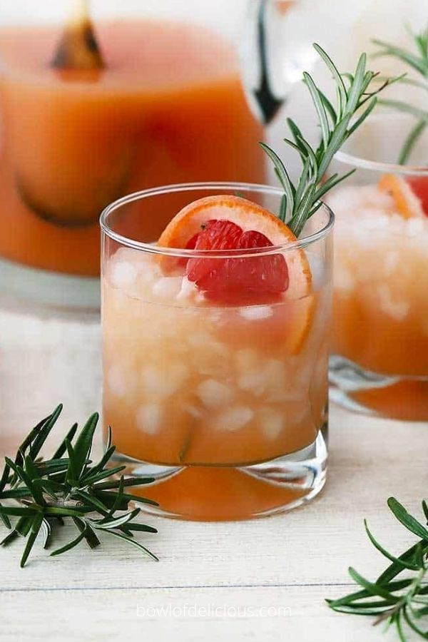 Rosemary Greyhound Cocktails