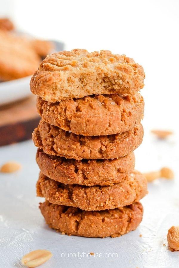 Paleo Orange Cranberry Cookies