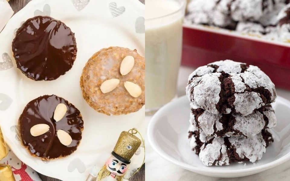10 Healthy Christmas Cookies Recipes + Gluten-Free, Dairy-Free, and Vegan