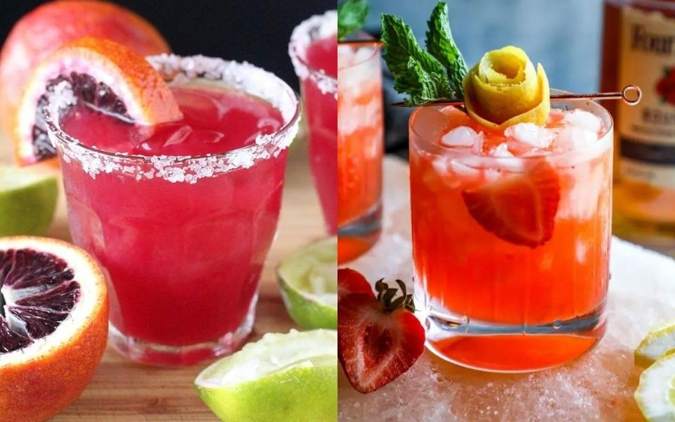 10 Eye-Catching Cocktail Recipes That Are Pink