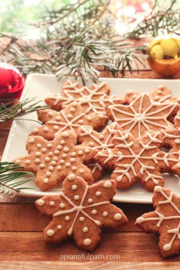 Oil-Free Vegan Gingerbread Cookies