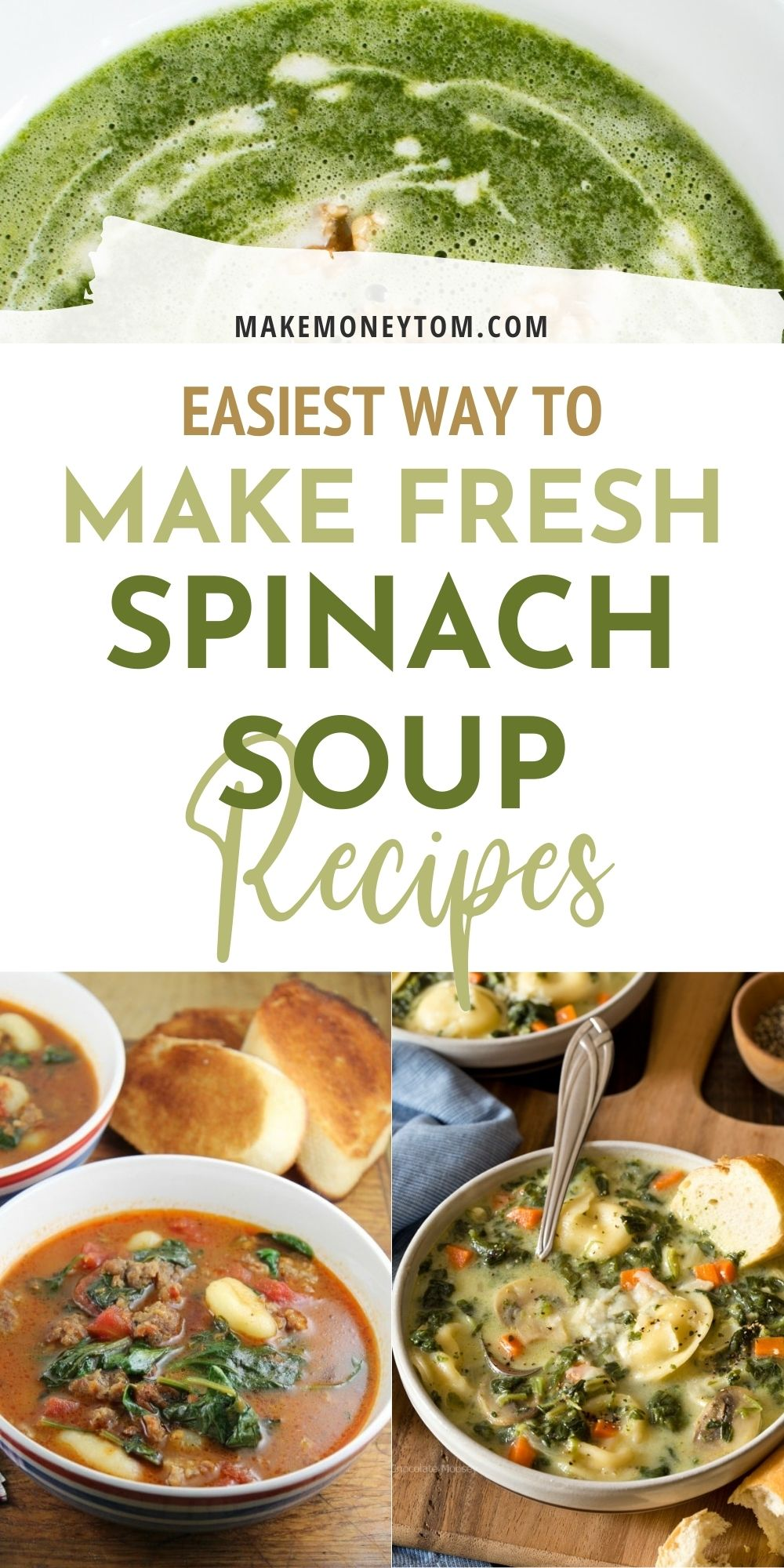 10 Healthy Spinach Soup Recipes For The Chilly Winter Weather