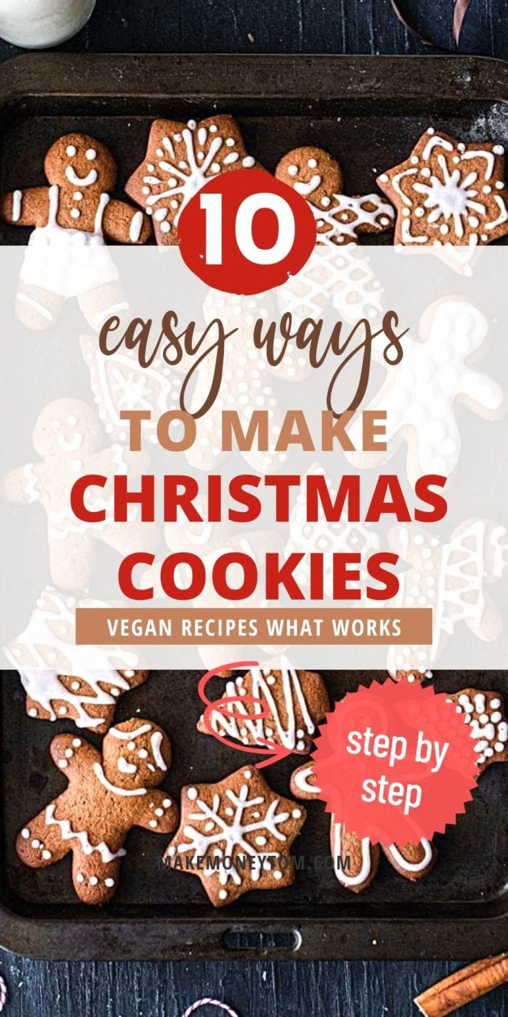 Healthy and Vegan Christmas Cookie Recipes